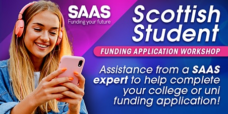 Scottish Student Funding Application Workshop tickets