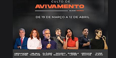 CULTO DE AVIVAMENTO COM ´PR. CLÁUDIO DUARTE 12-04 tickets