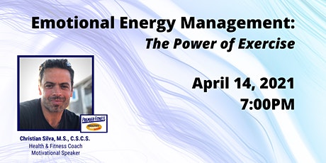 Emotional Energy Management: The Power of Exercise tickets