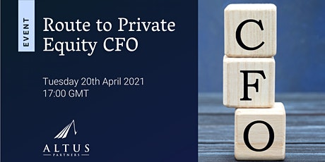 Route to Private Equity CFO tickets