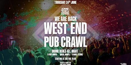 1BNO WEST END  PUB CRAWL IS BACK tickets