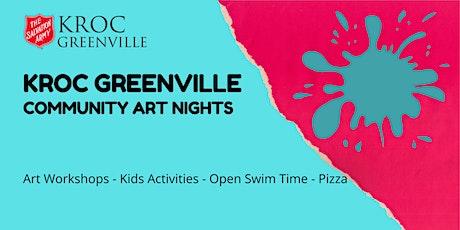 FREE Community Art Night at Kroc Greenville tickets