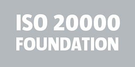 ISO 20000 Foundation / APMG bilhetes