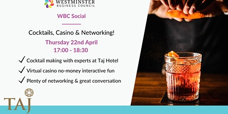 WBC Social - Cocktails and Casino! tickets