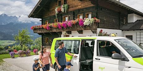 Nachhaltige Mobilitätskonzepte im Tourismus Tickets