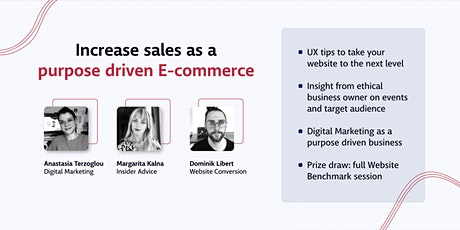 How to increase sales as a purpose-driven e-commerce: UX, marketing & more tickets