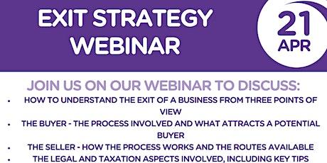 Exit Strategy Webinar tickets