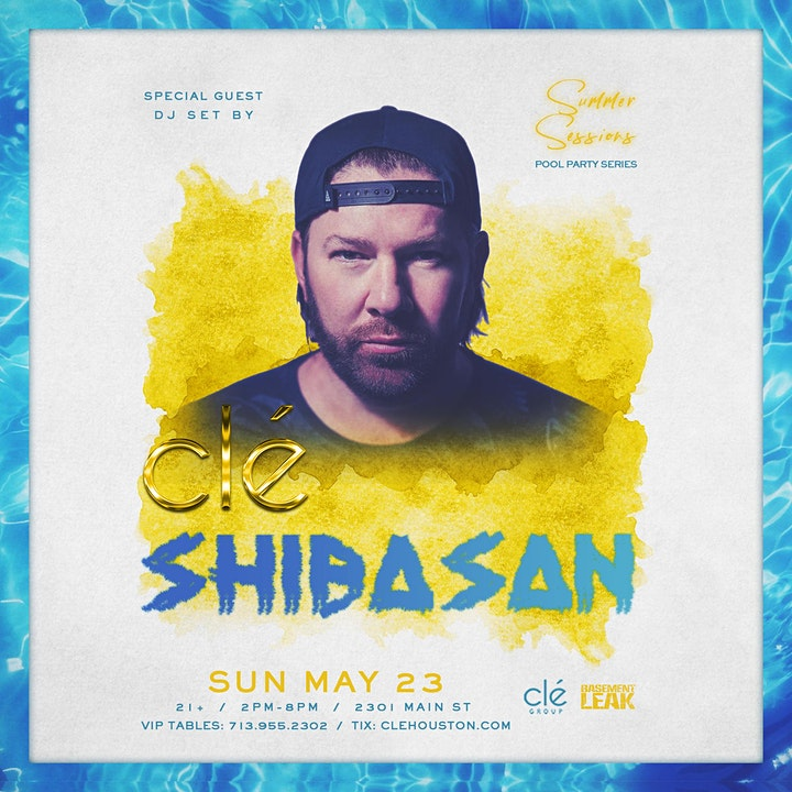 Shiba San / Sunday May 23rd / Clé Summer Sessions image