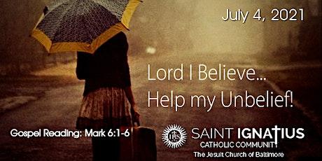 Sunday  Mass - July 4, 2021 tickets