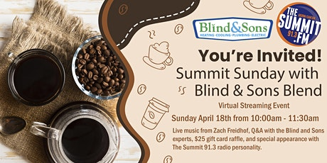 Summit Sunday with Blind & Sons Blend tickets