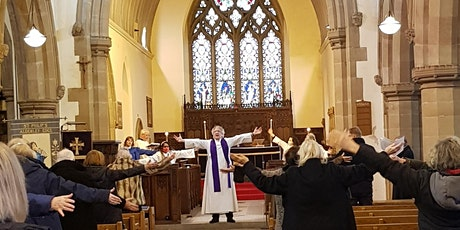 10am Coral Eucharist with socially distanced choir singing, and organ. tickets