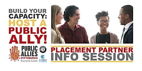 Public Allies Nonprofit Partner Info Session tickets