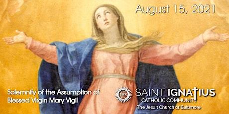 Sunday  Mass - August 15, 2021 tickets