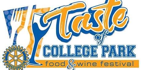 2021 Taste of College Park tickets