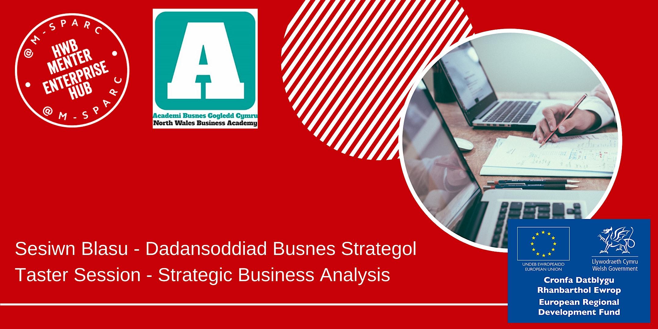 Dadansoddiad Busnes Strategol/Strategic Business Analysis - Taster