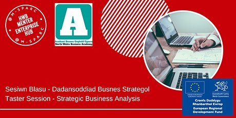 Dadansoddiad Busnes Strategol/Strategic Business Analysis - Taster tickets