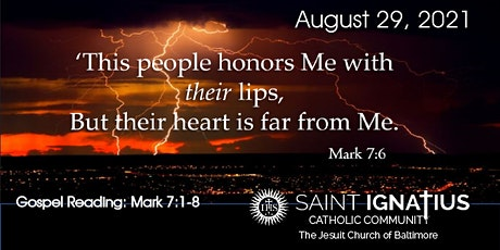 Sunday  Mass - August 29, 2021 tickets
