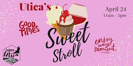 Utica's Sweet Stroll 2021 tickets