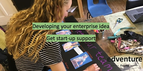 Developing your (social)  enterprise idea  - join online or in person tickets