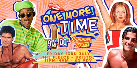 One More Time - 90's & 00's Party tickets