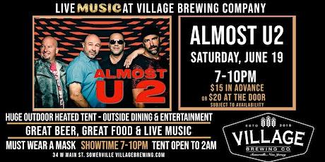 Almost U2 @ Village Brewing Company tickets