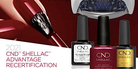 CND™ Shellac™ Digital Recertification Tickets