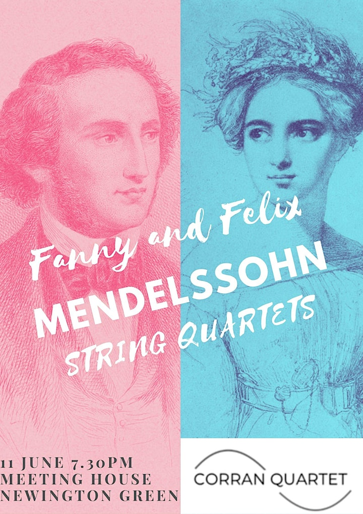 Fanny and Felix Mendelssohn - String quartets image