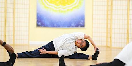 FREE Body & Brain Yoga Tai Chi - Deep Stretching Class tickets