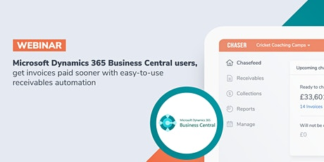 Chaser receivables software for Microsoft Dynamics 365 Business Central tickets