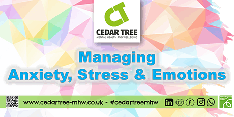 Managing Anxiety, Stress and Emotions tickets