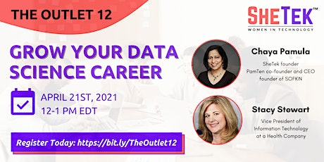 GROWING YOUR DATA SCIENCE CAREER tickets
