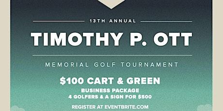 Timothy P. Ott Memorial Golf Tournament tickets