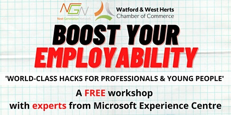 Microsoft Workshop: World-Class Hacks for Professionals & Young People tickets