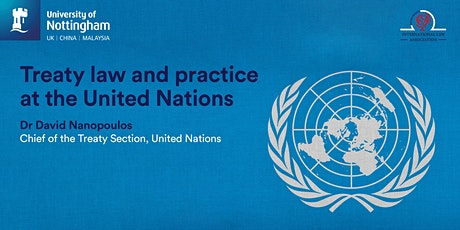 Treaty law and practice at the United Nations tickets