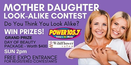 Mother Daughter Look-Alike Contest at the NWA Women's Expo 2021 tickets