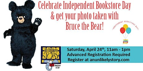 Bruce the Bear Socially Distanced Photo Opportunity tickets