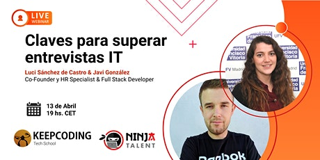 Webinar: Claves para superar entrevistas IT entradas