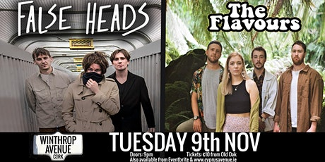 FALSE HEADS  +  THE FLAVOURS tickets
