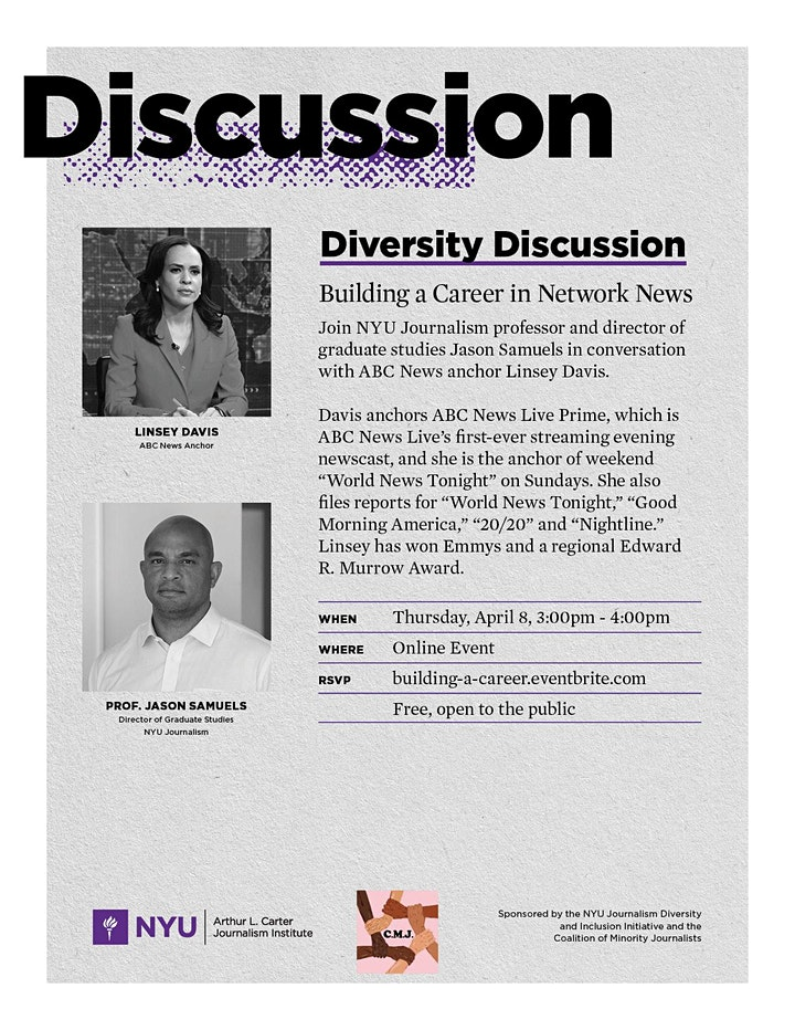 Diversity Discussion: Building a Career in Network News image