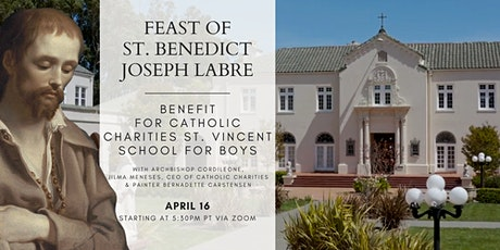 Feast of St. Benedict Joseph Labre benefit for St. Vincent School for Boys tickets