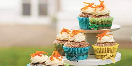 KIDS' WORKSHOP: CARROT CAKES & ORANGE CREAM CHEESE ICING COOKERY CLASS £15 tickets