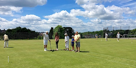 Introduction to Croquet tickets
