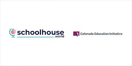 Educator Webinar: Schoolhouse.world in Colorado tickets