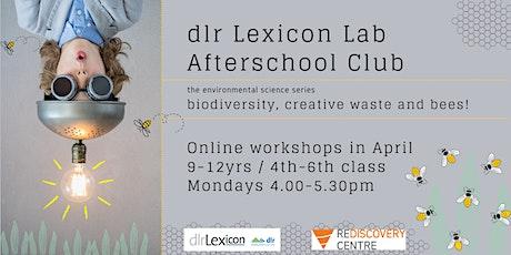 dlr Lexicon Lab Afterschool Club 9-12yrs April Workshops tickets