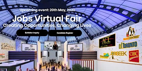 Virtual Job Fair May 2021 tickets