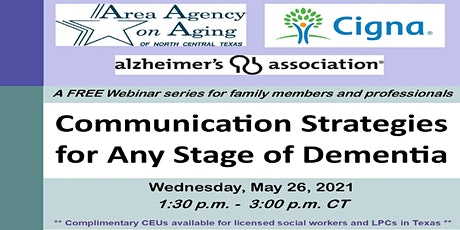 Communication Strategies for Any Stage of Dementia tickets