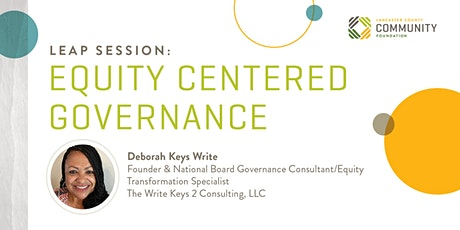 LEAP Session: EQUITY-CENTERED GOVERNANCE tickets