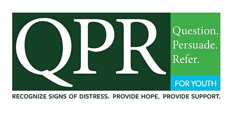 YOUTH QPR (Question, Persuade, Refer) Youth Suicide Training tickets