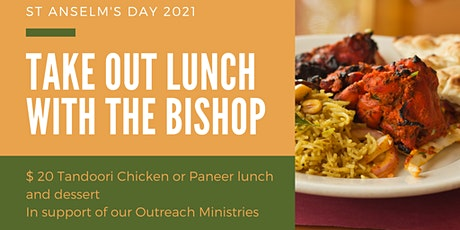 Take Out Lunch With the Bishop tickets