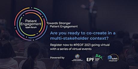 Patient Engagement Open Forum 2021 tickets